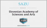 Slovenian Academy of Sciences and Arts